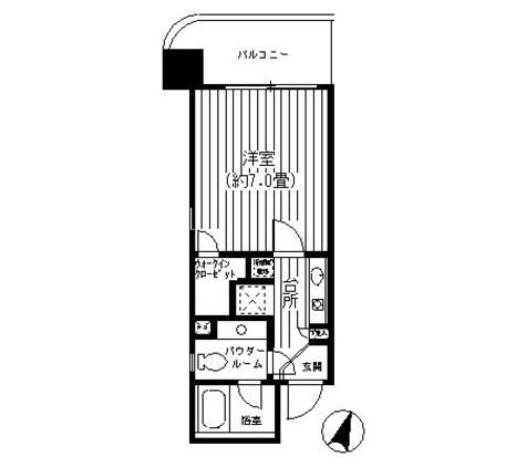 ヴィラコート横浜 / 3階 部屋画像1