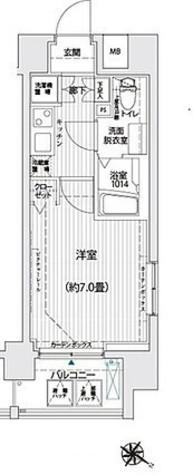 リライア西横浜 / 201 部屋画像1