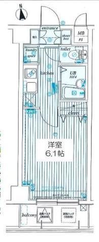 サンテミリオン錦糸町 / 5階 部屋画像1