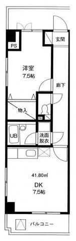 マスコ南大井 / 303 部屋画像1