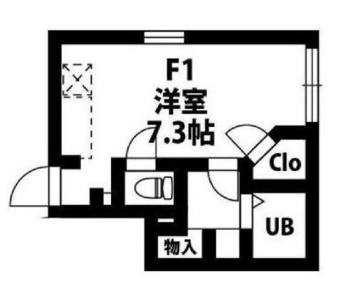 アヴニール泉 / 1階 部屋画像1