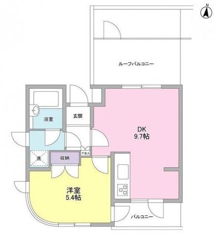 アルス池上 / 4階 部屋画像1