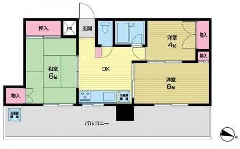パラスト目黒三丁目 / 3階 部屋画像1