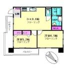 品川区西五反田3丁目12-12貸マンション 199807 / 4階 部屋画像1