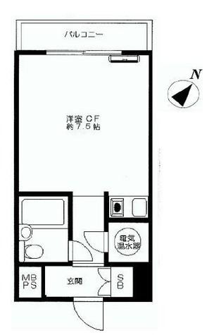 ルックハイツ横浜台町 / 8階 部屋画像1