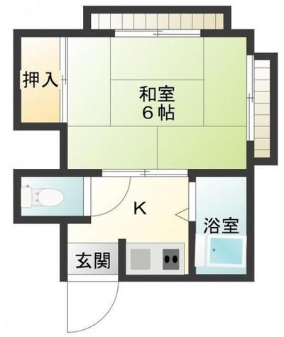 イーグル目黒No,1 / 2階 部屋画像1
