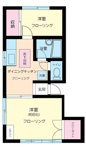 ファミールカツラ / 2階 部屋画像1