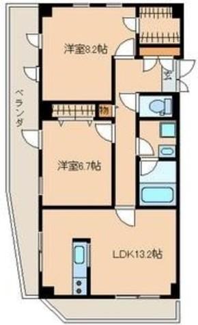 アーバンレジデンス仲之町 / 2階 部屋画像1