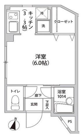 アルモニカ伊勢 / 1階 部屋画像1