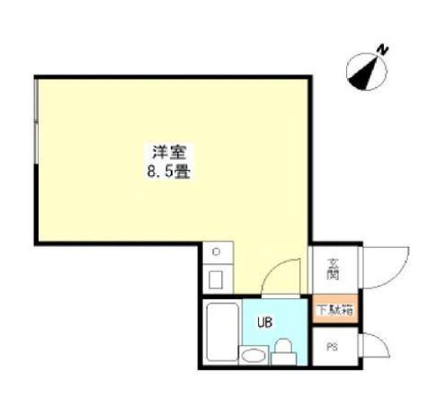 目黒ドーム / 2階 部屋画像1