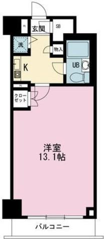 デュオ・スカーラ新宿 / 6階 部屋画像1