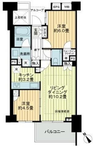 ウェリス四ツ谷 / 1階 部屋画像1
