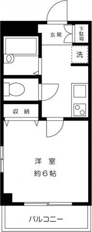 エバーグリーン長津田 / 1階 部屋画像1