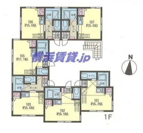 アーヴェル西横浜 / 2階 部屋画像1