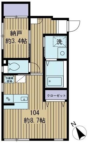 Blossom中目黒 / 104 部屋画像1