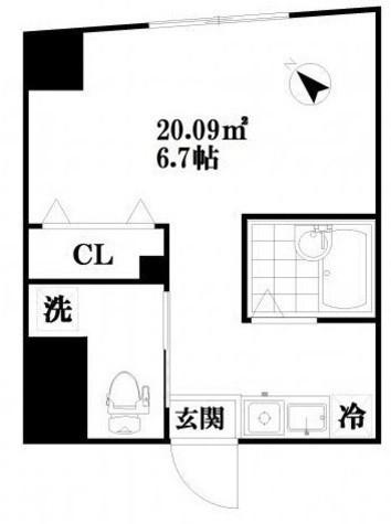 アイディ品川Ⅲ / 4階 部屋画像1