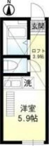ラボーナ妙蓮寺 / 102 部屋画像1