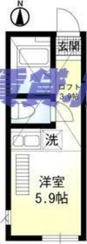 ラボーナ妙蓮寺 / 205 部屋画像1