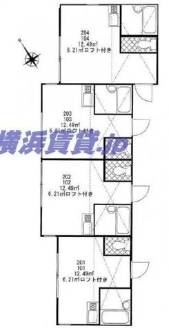カーサヴィータ小机 / 2階 部屋画像1