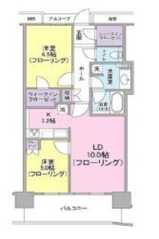キャピタルマークタワー / 32階 部屋画像1