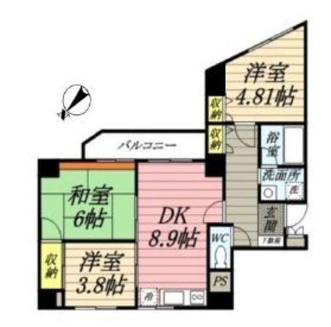 メゾン・ムラセ / 6階 部屋画像1