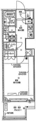 富久クロス グリーンガーデン / 3階 部屋画像1