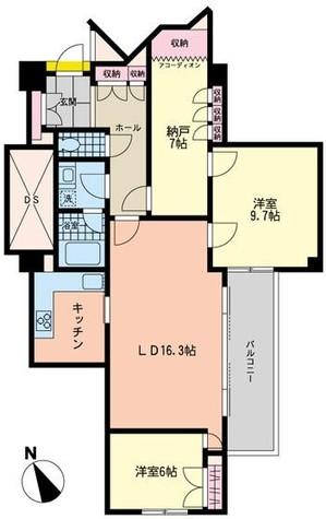 オパスロイヤル / 2階 部屋画像1