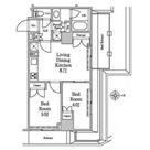 レジディア南品川Ⅱ / 8階 部屋画像1