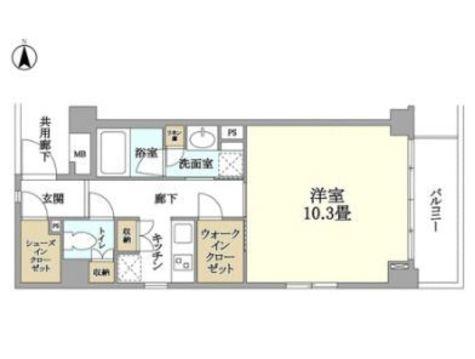 クリオ蒲田Ⅱ / 2階 部屋画像1