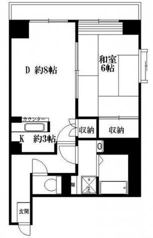 タートル仲六郷 / 7階 部屋画像1