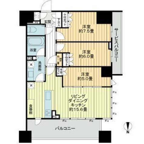 プレミスト北品川 / 3階 部屋画像1