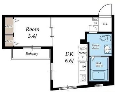 シルクメゾン / 2階 部屋画像1