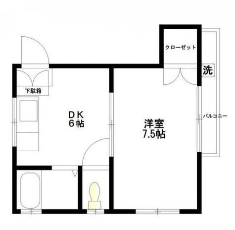 西五反田ハウジング / 3階 部屋画像1