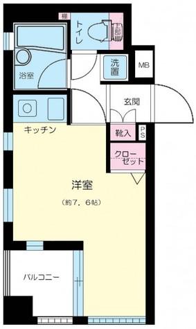 ジェイパーク中目黒弐番館 / 4階 部屋画像1