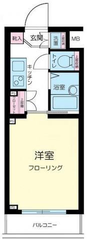 ルーブル学芸大学 / 4階 部屋画像1