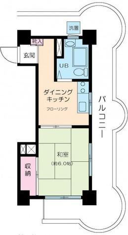 清水池ニュースカイマンション / 3階 部屋画像1