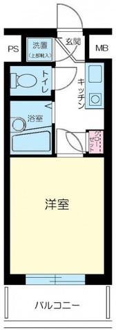 ルーブル都立大学 / 1階 部屋画像1