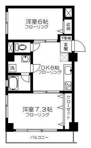 セラクール / 3階 部屋画像1