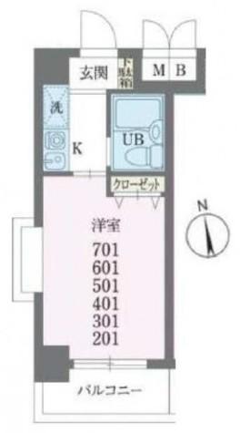 ベルスパッツィオ山王 / 401 部屋画像1