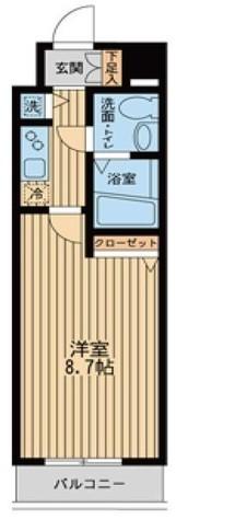 Humanハイム仲町台 / 4階 部屋画像1