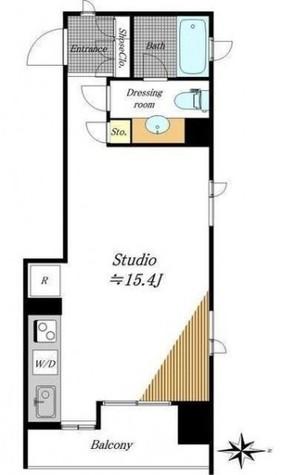 フリーディオ芝公園アネックス / 3階 部屋画像1