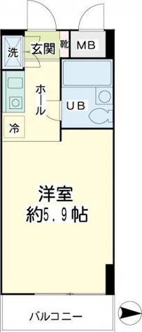 エクセル横浜 / 2階 部屋画像1