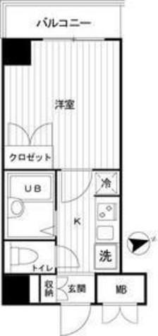 コンフォリア芝浦キャナル(旧チェスターハウス芝浦) / 9階 部屋画像1
