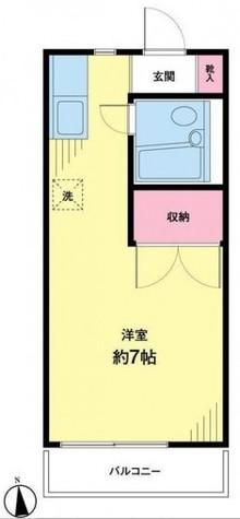 中山ハイツ / 2階 部屋画像1