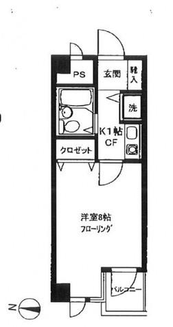 プレステージ学芸大 / 3階 部屋画像1