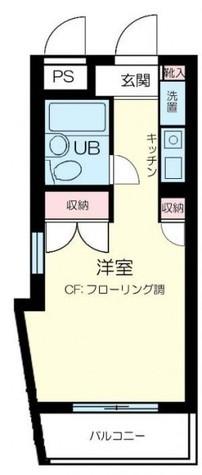 上野毛 11分マンション / 4階 部屋画像1