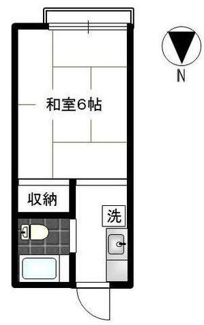 ジョイ梅野 / 1階 部屋画像1
