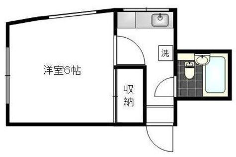 不動ハイツ / 1階 部屋画像1