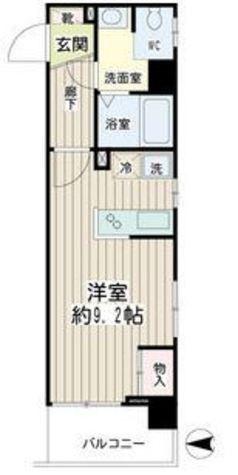 ハイネス多摩川 / 4階 部屋画像1