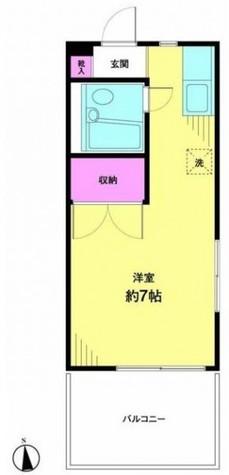 中山ハイツ / 205 部屋画像1